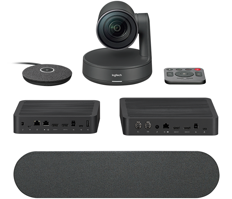 Управляемая веб-камера + спикерфон Logitech Rally