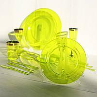 Тарелки одноразовые для фуршета и кейтеринга 260 мм 6 шт. Capital For People, фото 1