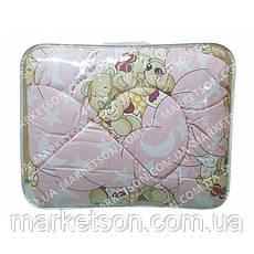 Детское одеяло из овечьей шерсти 105х135, фото 2