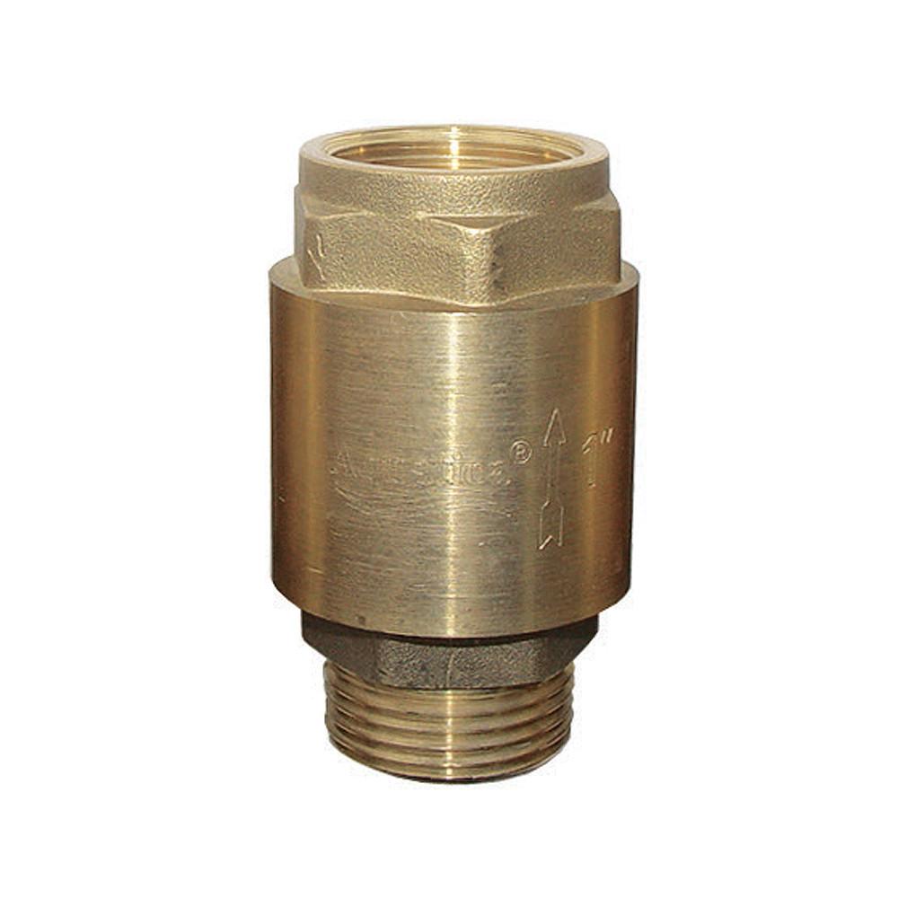 """Клапан обратный (усиленный) 1""""Mx1""""F (латунь) euro AQUATICA (779655)"""