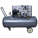 Компрессор ременной двухцилиндровый 380В 3кВт 550л/мин 10бар 150л Sigma Refine (7044231), фото 2
