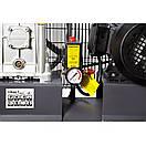 Компрессор ременной двухцилиндровый 380В 3кВт 550л/мин 10бар 150л Sigma Refine (7044231), фото 3