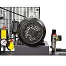 Компрессор ременной двухцилиндровый 380В 3кВт 550л/мин 10бар 150л Sigma Refine (7044231), фото 4