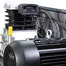 Компрессор ременной двухцилиндровый 380В 3кВт 550л/мин 10бар 150л Sigma Refine (7044231), фото 6