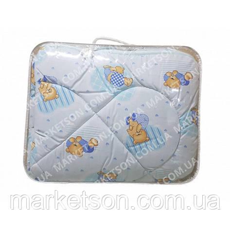 Дитяче ковдру з овечої вовни 105х135, фото 2