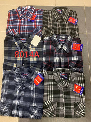 Рубашка- флис - 8014А, фото 2