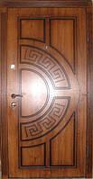 Входная дверь модель П3-361 дуб золотой +патина