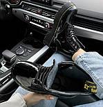 Женские зимние ботинки Dr. Martens 1460 лакированные черные без меха 30-41рр. Реальное фото. Топ реплика, фото 3