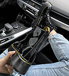 Женские зимние ботинки Dr. Martens 1460 лакированные черные без меха 30-41рр. Реальное фото. Топ реплика, фото 4