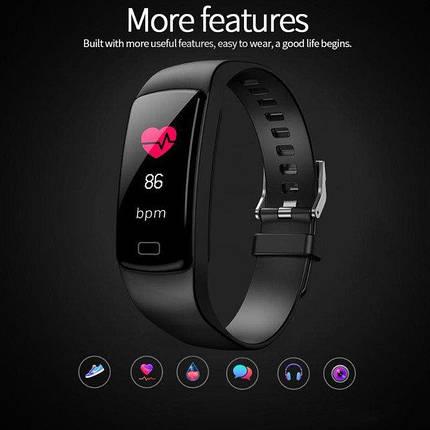 Умные фитнес часы Goral Y5 (черные), фото 2