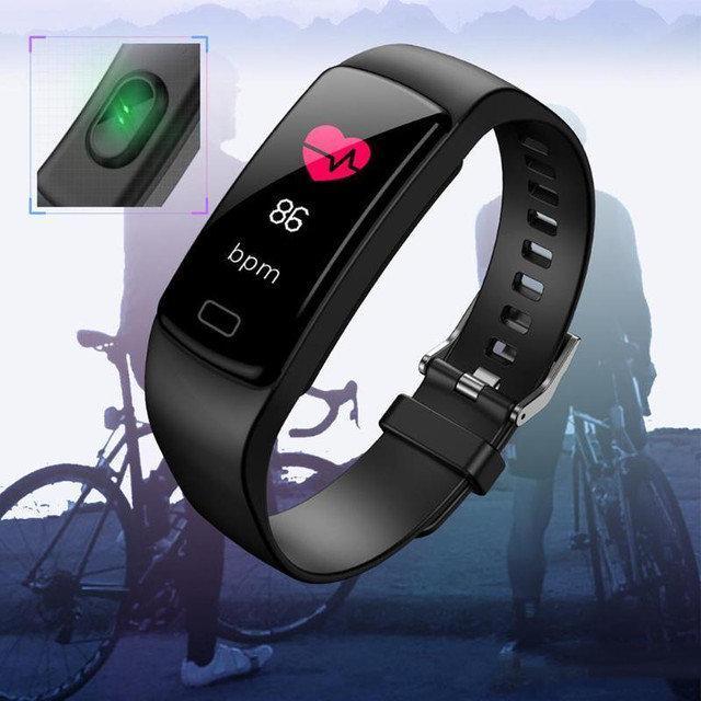 Умные фитнес часы Goral Y5 (черные)