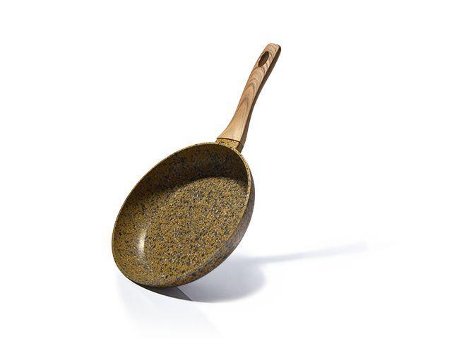 """Сковорода """"Monblane Stone"""" 24х4.9см алюминиевая с каменным антипригарным покрытием Fissman"""