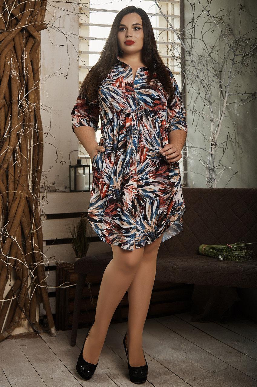 Легкое летнее платье 519-2