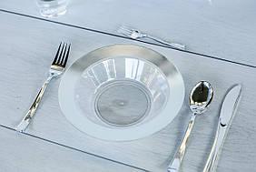 Тарелки одноразовые глубокие для фуршета и кейтеринга 300 мл 6 шт Capital For People