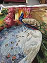 ОСП-43 Схема для вышивки бисером Павлины в саду, фото 4
