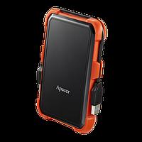 """Внешний жесткий диск Apacer AC630 Military-Grade Shockproof (2.5"""", 1Tb, USB 3.1, black/orange)"""