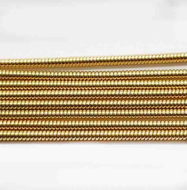 Канитель жёсткая золото д.0,9 мм (0027) цена за 5 грамм.