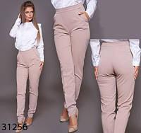 Женские стильные брюки с завышенной талией р. 42, 44, 46, фото 1