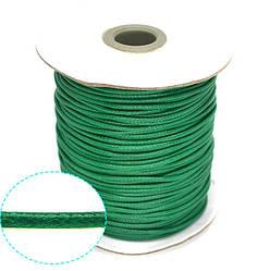 Шнур полиэстер 2,2мм, 10м.(зеленый)