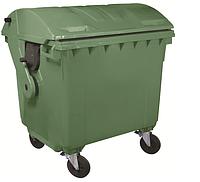 Пластиковый контейнер 1100 л с круглой крышкой