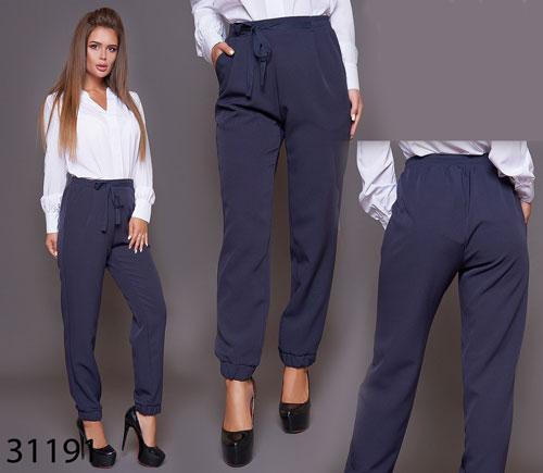 Деловые женские брюки с завышенной талией р. 42, 44, 46, 48