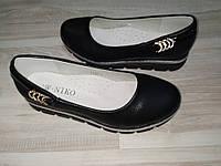 Туфли на девочку черные арт 3392-2 размеры 33-37 W.NIKO., фото 1