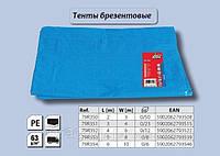 Тент из полиэстера 2 x 3 м, 63 г/м2., Top Tools 79R350