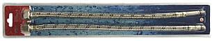 Шланги для смесителей Solomon HY6201 A+B М10х1/2' 0,5 м ПАРА в блистере, фото 2