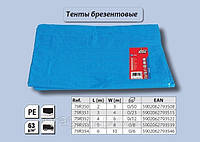 Тент из полиэстера 3 x 4 м, 63 г/м2., Top Tools 79R351