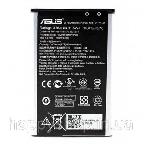 Оригинальная батарея Asus Zenfone Selfie ZD550KL (C11P1501), фото 2