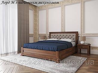 Двоспальне ліжко Лорд з підйомним механізмом