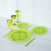 Одноразовая посуда для праздника. Полная сервировка стола 84 шт 6 чел Capital For People