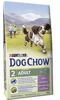 Purina Дог Чау Dog Chow Adult Lamb сухой корм с ягненком, гипоаллергенный 14 кг