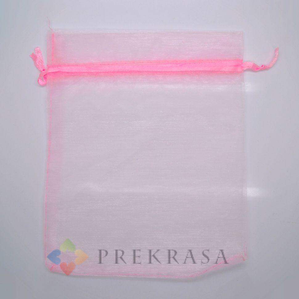 Мешочки из органзы (Розовый)18х13мм.