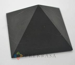 Пирамида из шунгита, размер на выбор. (58х58х33мм)