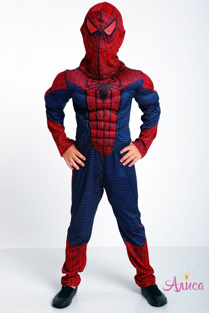 Карнавальный костюм Человек Паук с мышцами