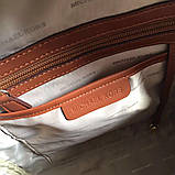 Рюкзак, портфель Майкл Корс 23, 26 см, кожаная реплика, фото 4