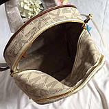 Рюкзак, портфель Майкл Корс 23, 26 см, кожаная реплика, фото 3
