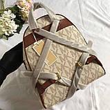 Рюкзак, портфель Майкл Корс 23, 26 см, кожаная реплика, фото 8
