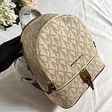 Рюкзак, портфель Майкл Корс 23, 26 см, кожаная реплика, фото 7