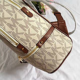 Рюкзак, портфель Майкл Корс 23, 26 см, кожаная реплика, фото 5