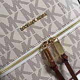 Рюкзак, портфель Майкл Корс 23, 26 см, кожаная реплика, фото 9