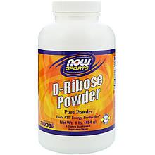 """D-рибоза в порошке NOW Foods, Sports """"D-Ribose Powder"""" активирует производство энергии (454 г)"""