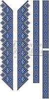 """Заготовка для вишивки """"Сорочка чоловіча"""" СЧд-037 (Барвиста вишиванка)"""