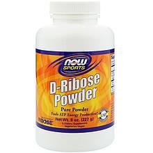 """D-рибоза в порошке NOW Foods, Sports """"D-Ribose Powder"""" активирует производство энергии (227 г)"""