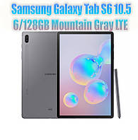 Планшет Samsung Galaxy Tab S6 10.5 LTE 6/128GB Mountain Gray (SM-T865NZAAXEO)