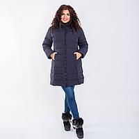 Женское пальто Indigo N 008T MEMORY FROG BLACK
