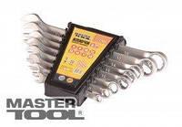 MasterTool  Ключи рожково-накидные набор 15 шт (6-19, 22) 71-2115