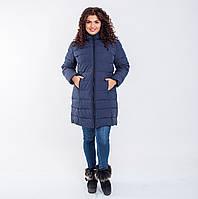 Женское пальто Indigo N 008T MEMORY FROG NAVY