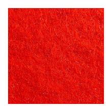 Войлок синтетический красный Фетр Состав 100% полиэстер, толщина 3 мм. Ширина рулона 100 см